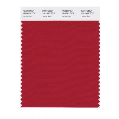 Pantone 19-1862 TCX Swatch Card Jester Red Buy in india