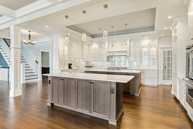 Kitchen Cabinetry 2 nj kitchen cabinets Rich Two Tone Kitchen