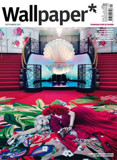 Wallpaper 2011 September Fashion Issue Ltd Edition Cover by Miles Aldridge