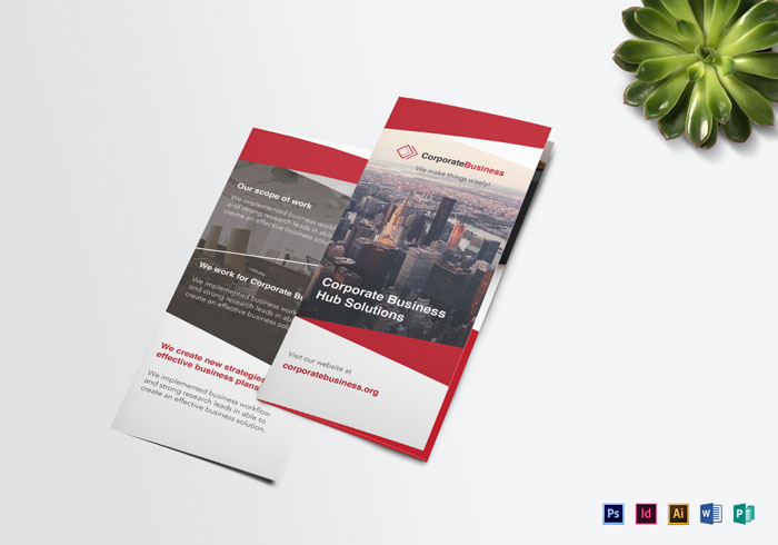 Brochure Design Inspiration  64 Modern Brochure Examples  Tri fold Corporate Business Brochure Template Brochure Design Inspiration   64