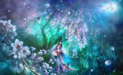 Asian Dreams Animated Wallpaper - DesktopAnimated.com