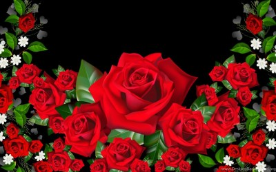 3D Rose Wallpapers 47, Rose Flower Images, Rose Pictures And ... Desktop Background