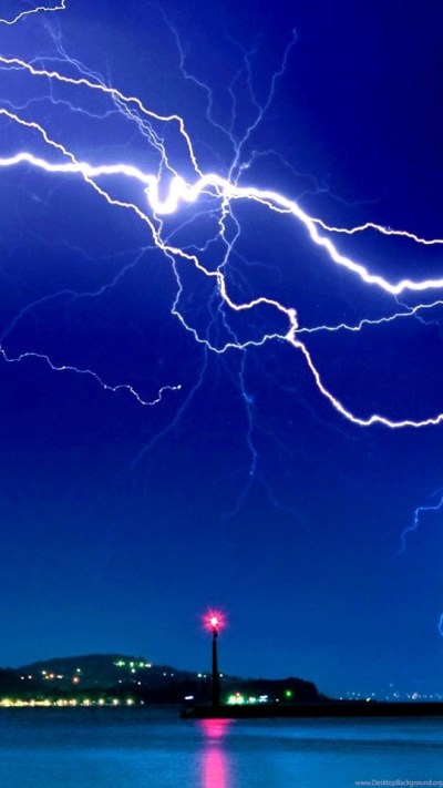 Download Dramatic Lightning Hd Live Wallpapers Free Download ... Desktop Background