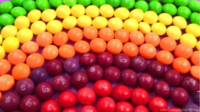 Learn Colours With Rainbow And Candy Skittles! Funny Learning ... Desktop Background
