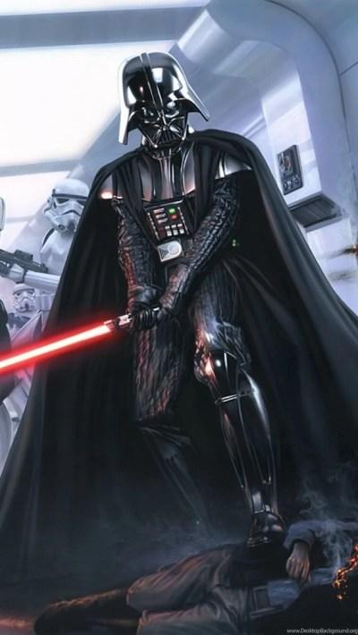 Darth Vader iPhone 5 Wallpapers Desktop Background