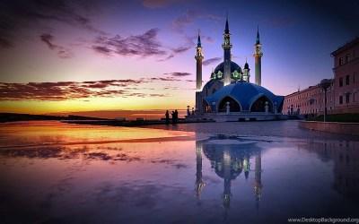 Qolsharif Mosque Wallpapers HD Download Of Beautiful Mosque Desktop Background