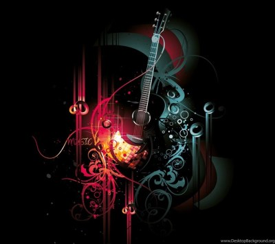 Abstract guitar wallpapers hd abstract guitar background 1.jpg Desktop Background