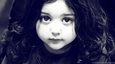 Cute Baby Girl Black And White Desktop Wallpapers Magnificent HD ... Desktop Background