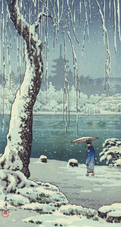 iPhone Wallpapers By Ukiyo e Japanese Woodblock Wallpapers 300 ... Desktop Background