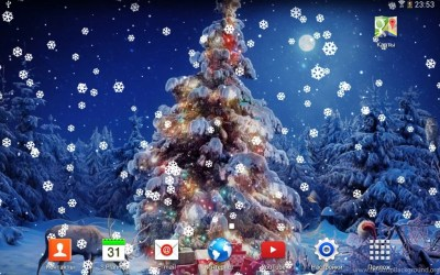 Live Christmas Wallpapers Wallpapers Zone Desktop Background