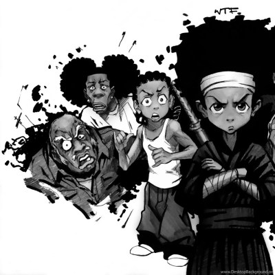 Download Wallpapers, Download 1024x1024 The Boondocks 2451x1687 ... Desktop Background
