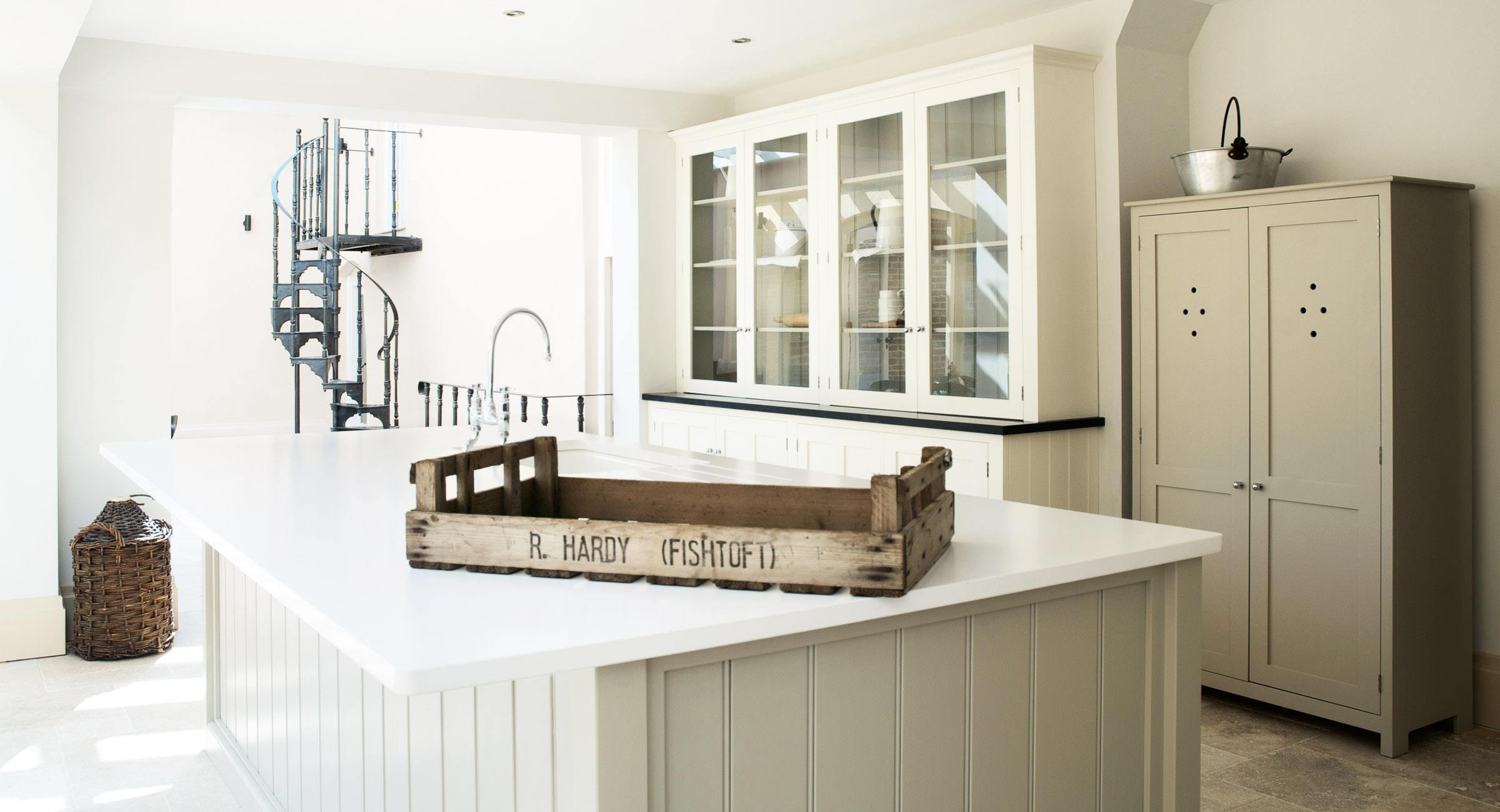 shaker kitchen shaker kitchen island The Shaker kitchen in this Leicestershire barn has a distinctive French influence It features black