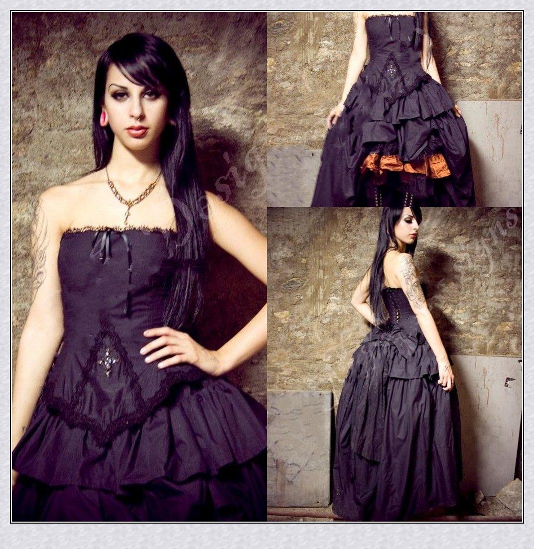 gothic inspired wedding dresses steampunk wedding dresses Gothic Inspired Wedding Dresses 75