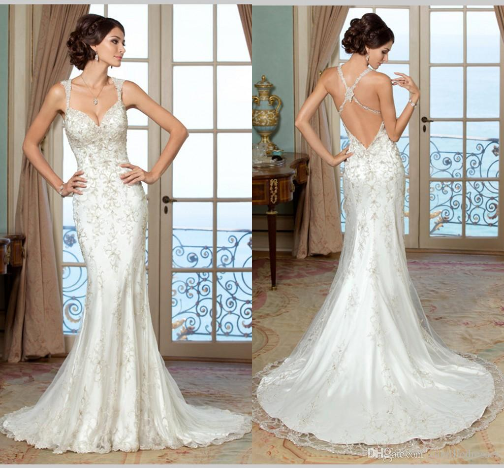 vintage lace wedding dresses low back low back wedding dress Vintage lace wedding dresses low back
