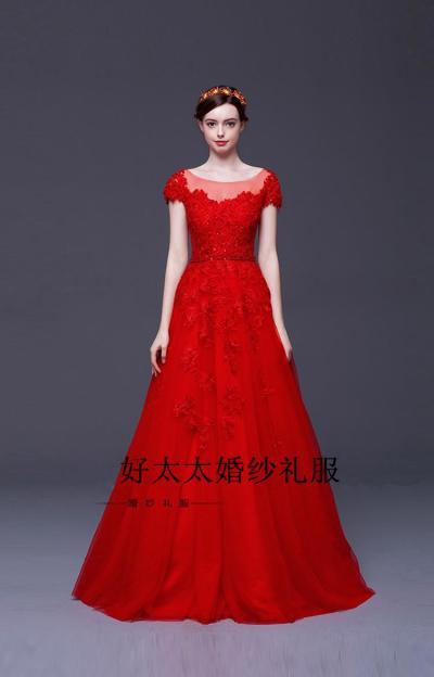 Spring 2016 New Korean Red Bridal Wedding Toast Clothing ...