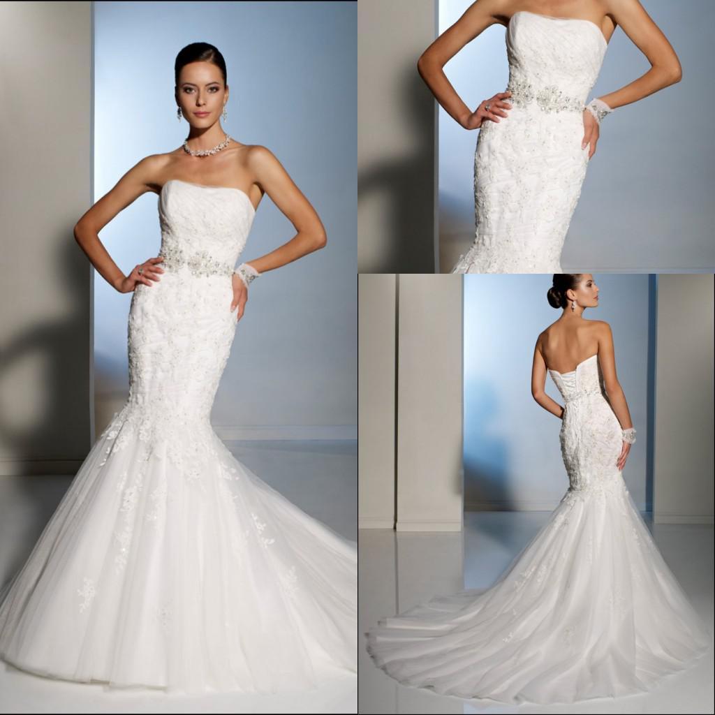 strapless mermaid style wedding dress mermaid style wedding dress Strapless mermaid style wedding dress
