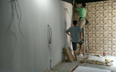 Wallpaper Installation Services Singapore   Renovation Contractor Singapore