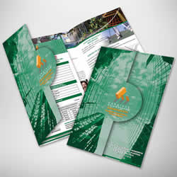 Difference between Brochure and Catalogue   Brochure vs Catalogue According to BusinessDictionary com  the definition of a Brochure is  a     publication consisting of one folded page  or several pages stitched  together but
