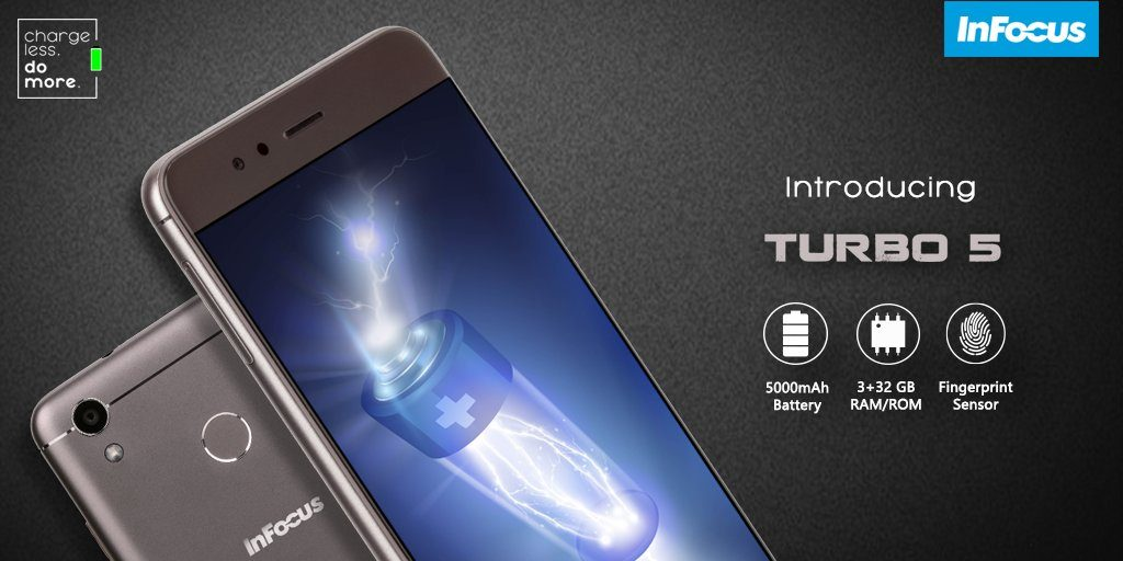 InFocus Turbo 5 smartphone specifications