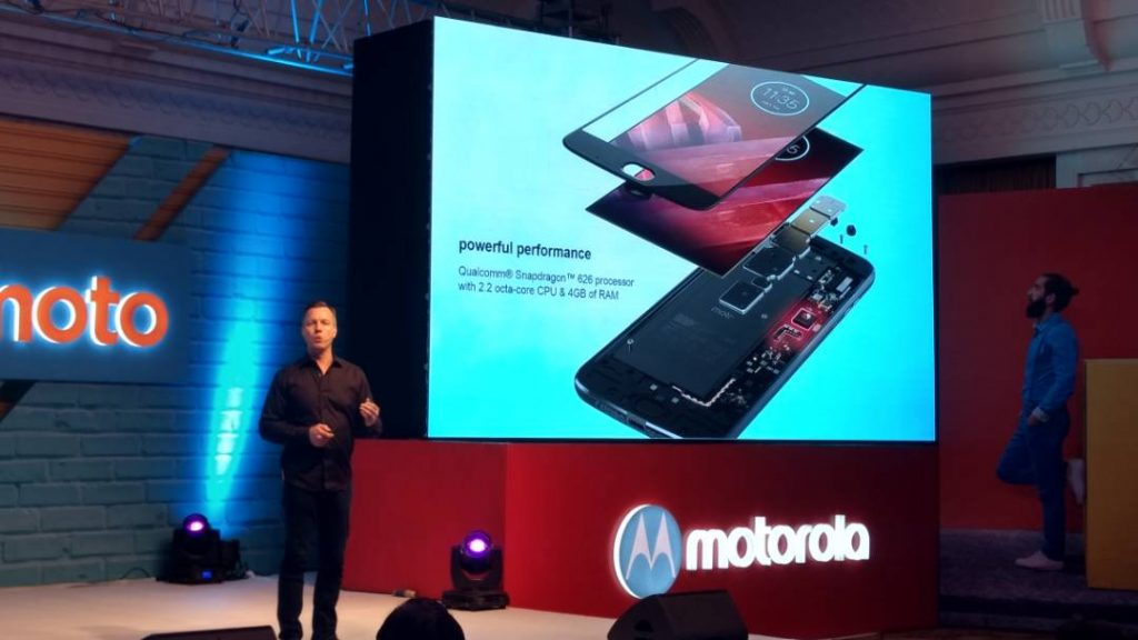 Motorola Moto Z2 Play Processor