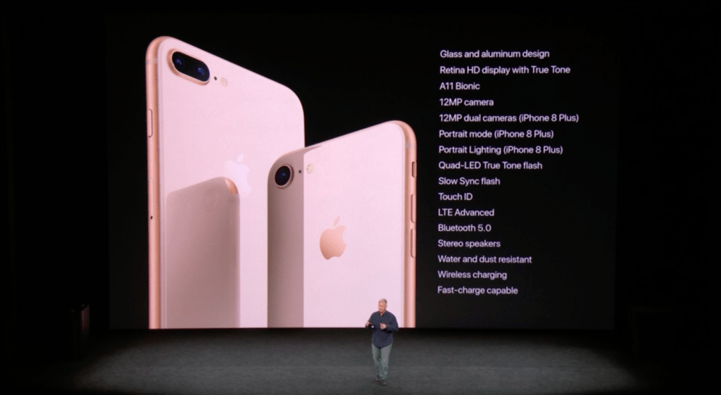 Apple iPhone 8, iPhone 8 Plus specifications