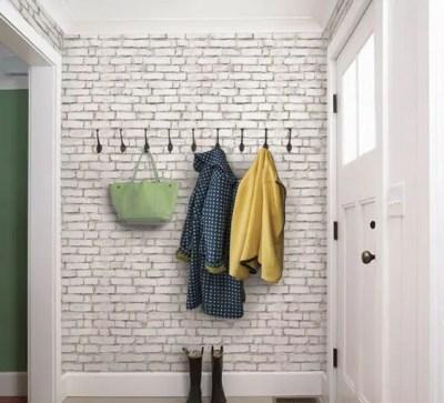 30 Trendy Brick Wall Ideas For Entryways - DigsDigs