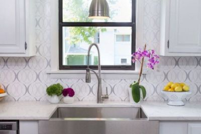 25 Wallpaper Kitchen Backsplashes With Pros And Cons - DigsDigs