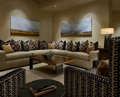 Modern Spanish - Traditional Interior Design by Ownby - DigsDigs