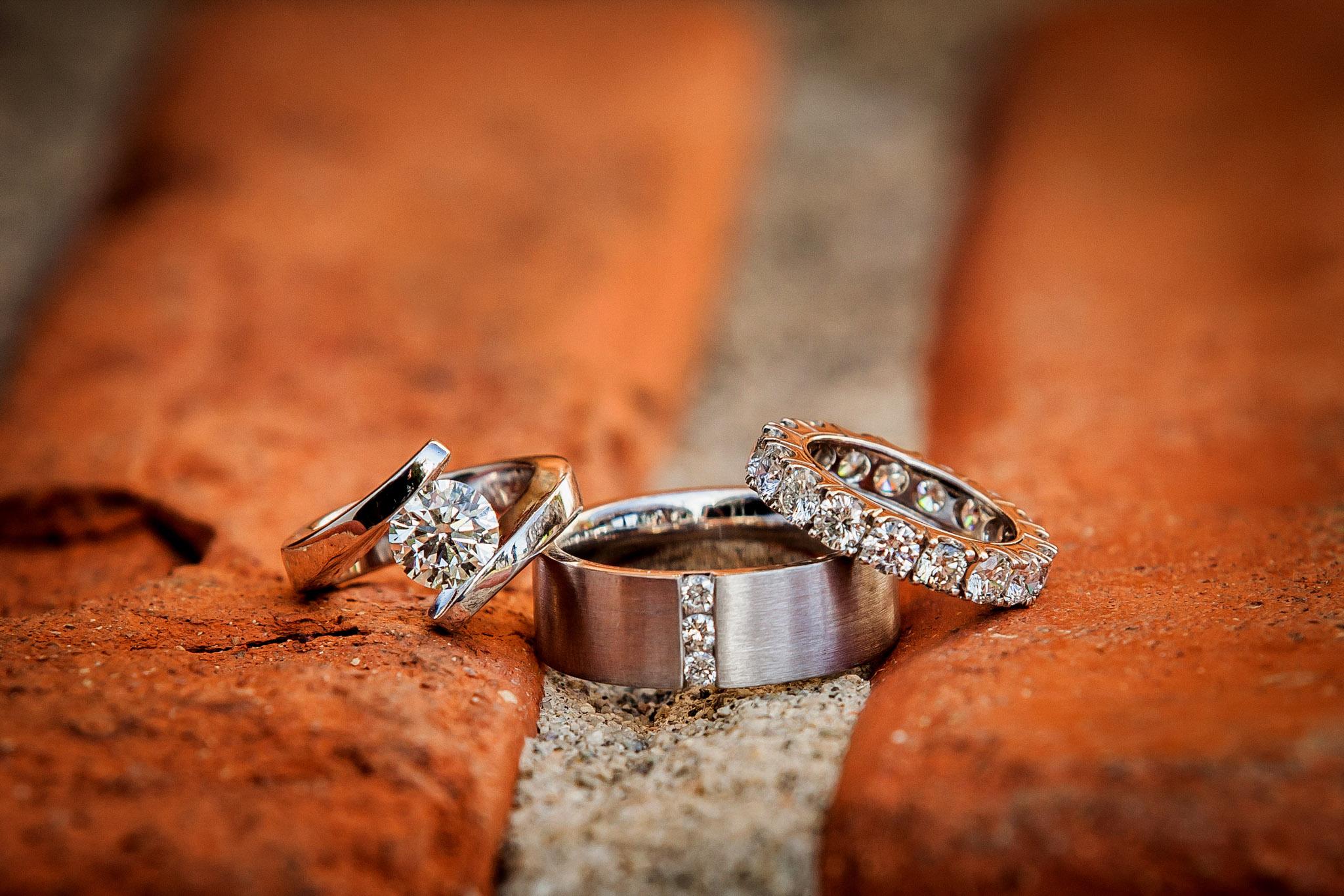 orange camo wedding rings orange wedding rings Blaze Orange Camo Ring