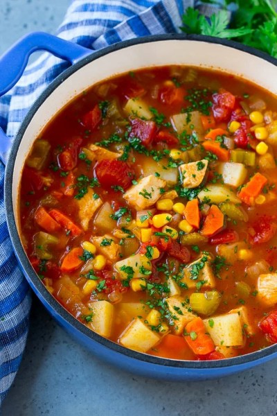 Mexican Chicken Soup - Dinner at the Zoo