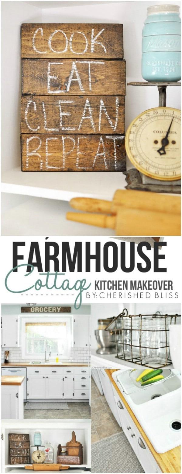 2 diy kitchen remodel Cottage Style Kitchen
