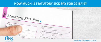 Statutory Sick Pay Rate for 2018 & 2019 | DNS Accountants