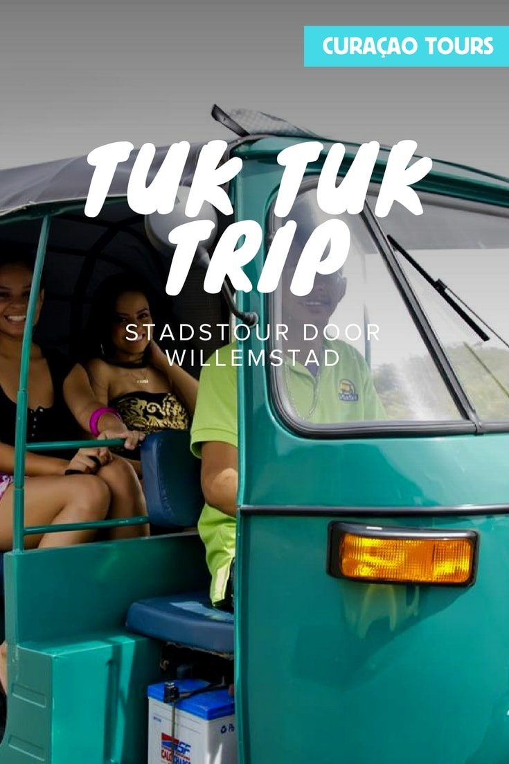 Favorite local tours - Tuk tuk door Willemstad