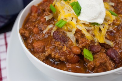 Thick and Hearty Homestyle Chili - Don't Sweat The Recipe