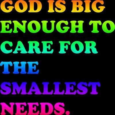 God Cares Wallpaper