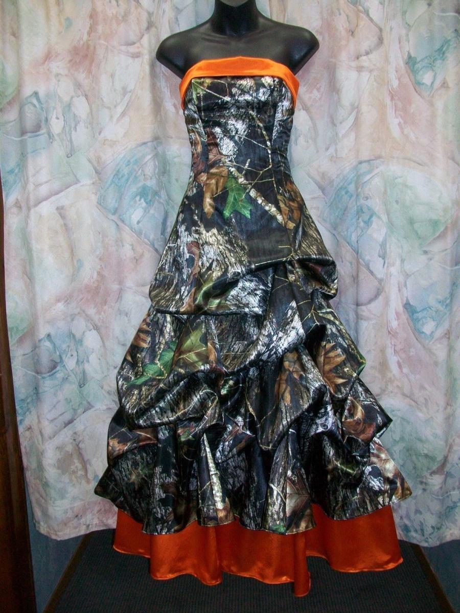 camo wedding dresses wedding dresses camo Orange Camo Wedding Dresses