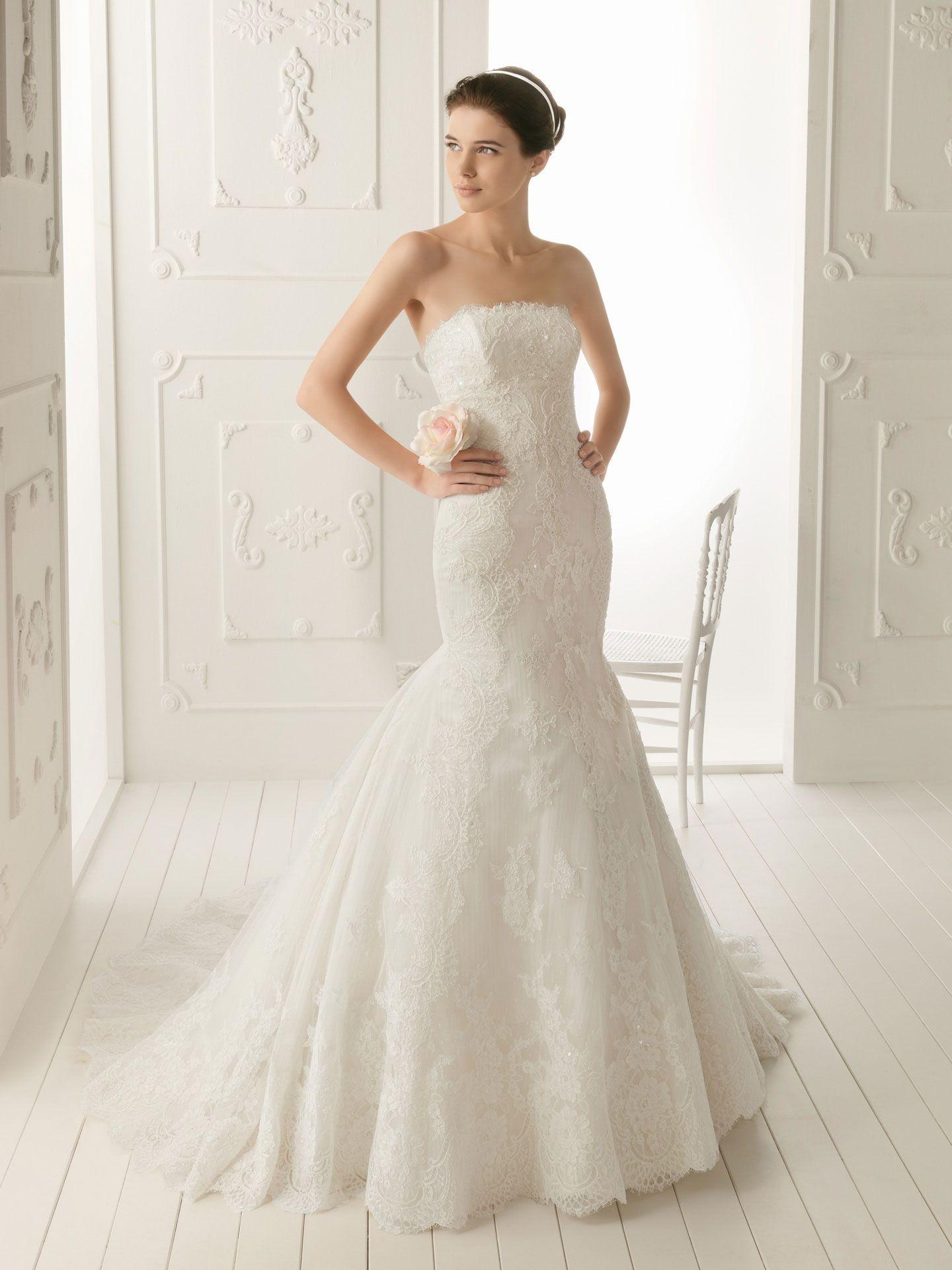 mermaid wedding dresses mermaid style wedding dress Strapless Mermaid Wedding Dress