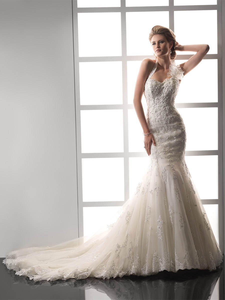 vintage wedding dresses lace vintage wedding dress Vintage Mermaid Wedding Dresses