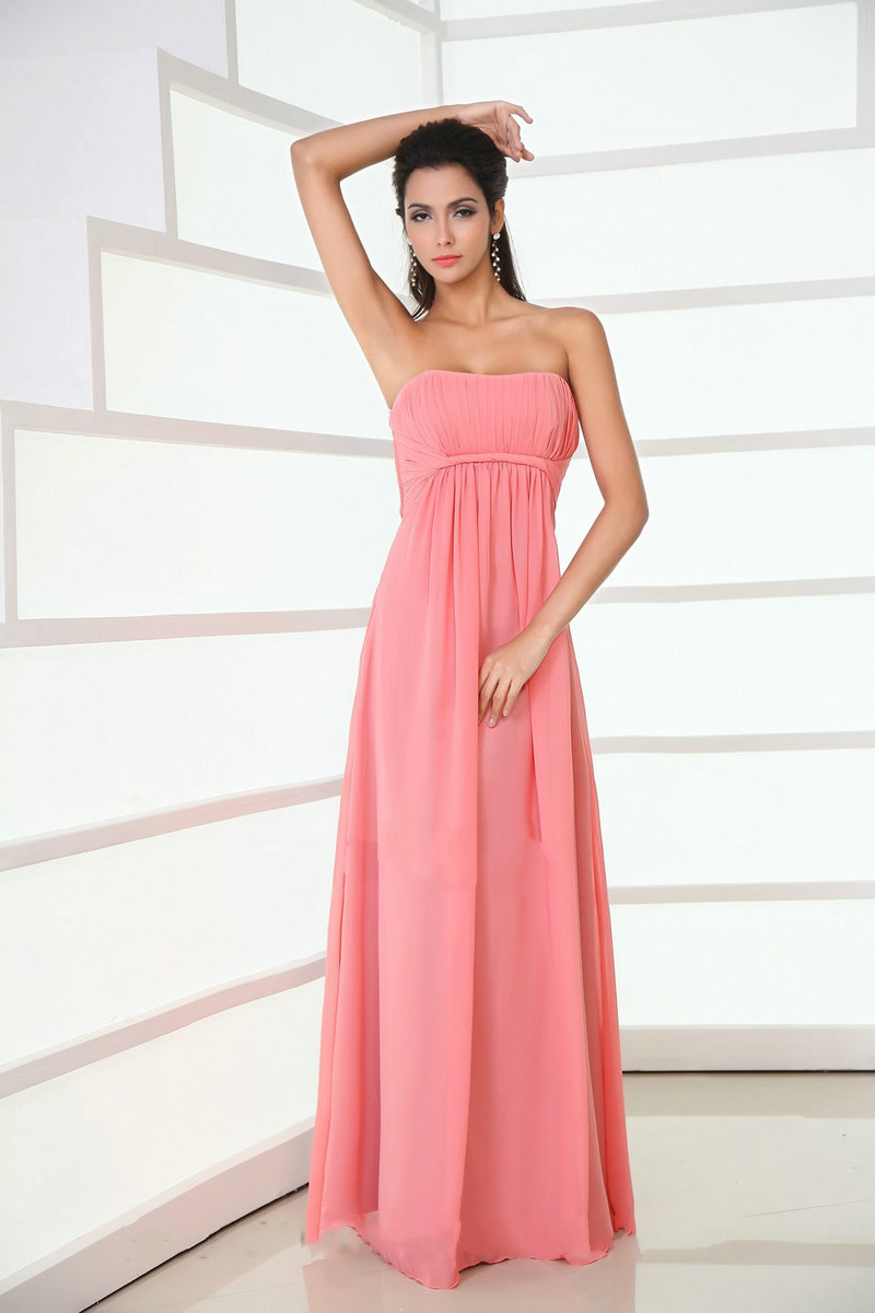 coral bridesmaid dresses coral dress for wedding Coral Chiffon Bridesmaid Dresses