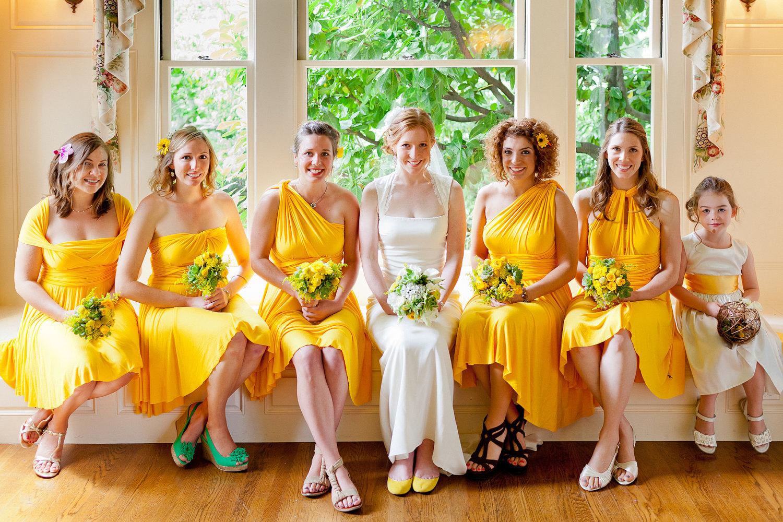 canary yellow long bridesmaid dresses yellow wedding dress Yellow Bridesmaid Dresses Dressed Up Girl