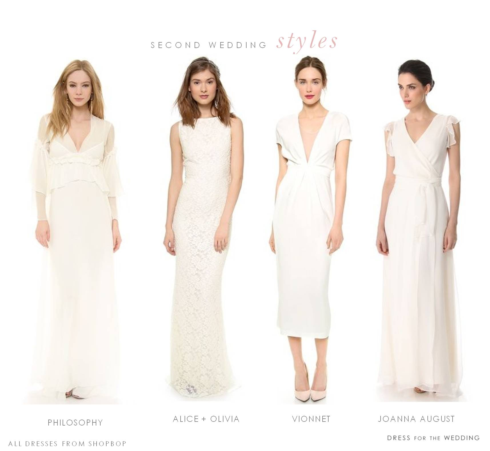 wedding dresses for a second marriage second wedding dresses