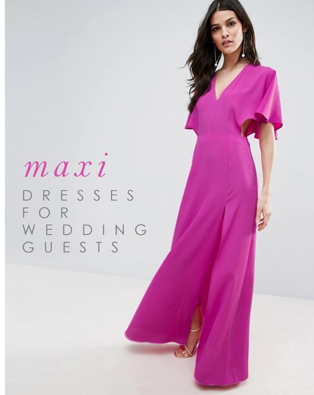 maxi dresses for weddings formal dresses for weddings Maxi Dresses for Wedding Guests