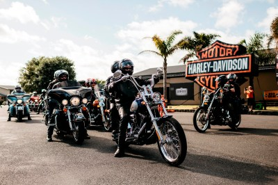 On the run with Harley-Davidson - the Iron Run that is ...