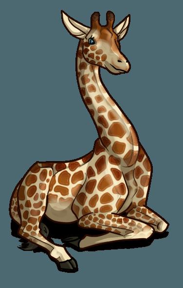 Giraffe disegni da stampare e colorare for Immagini giraffa per bambini