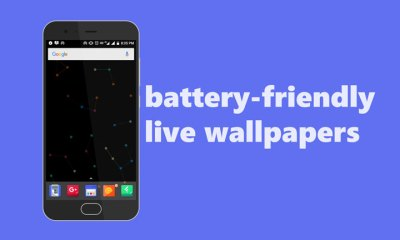 5 Battery-Friendly Live Wallpapers for Android | DroidViews