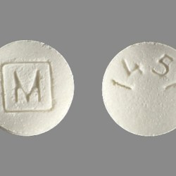 M 1451 Pill Images White Round