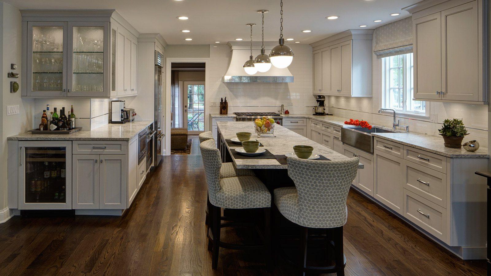 1600 x 900 L Shaped Kitchen Design Perfected Hinsdale IL drury design 1