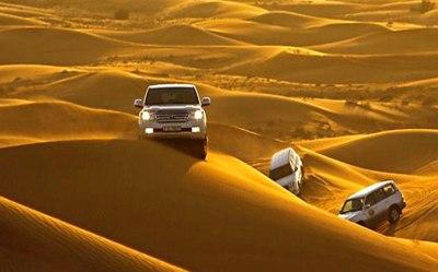 Evening Desert Safari with Quad Bike, Dubai Adventures Tours And Safaris
