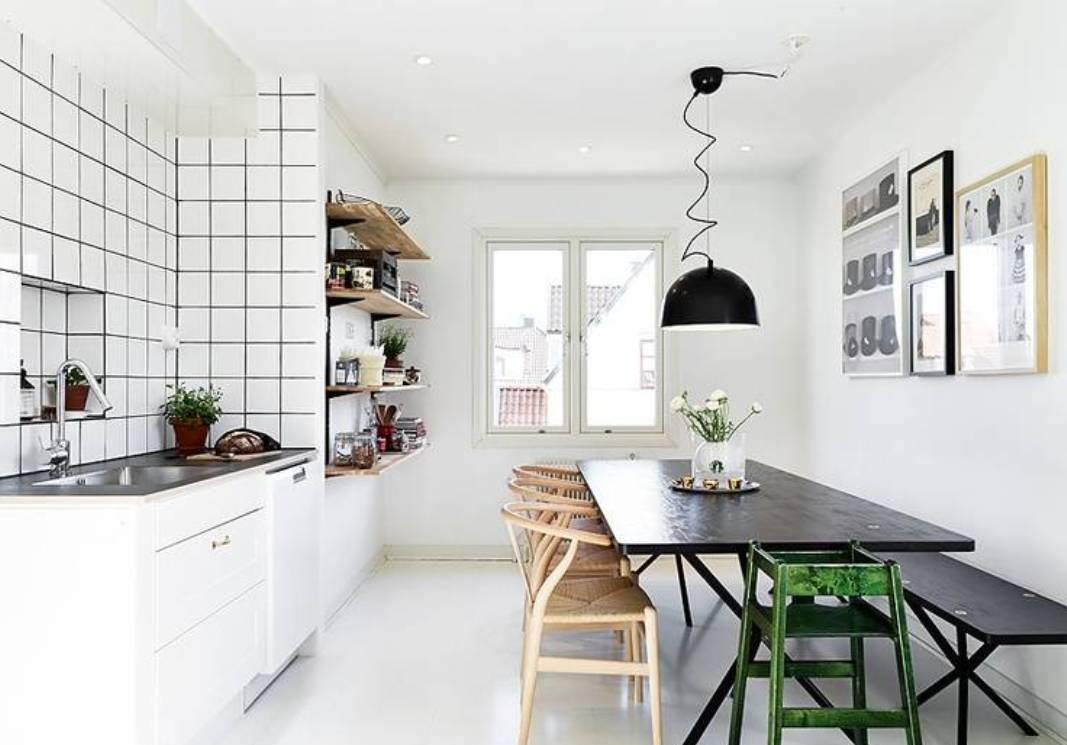 21 best solutions for contemporary kitchen decoration white kitchen designs White Scandinavian Kitchen Dinning Room Design