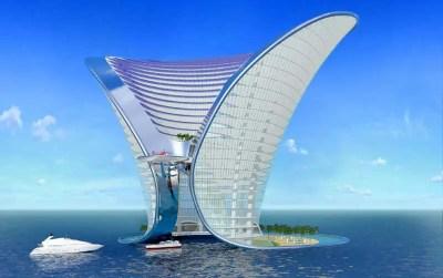 The Apeiron Dubai, Hotel - e-architect